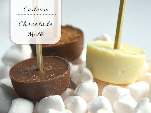 Cadeau idee: Chocolademelk op een stokje
