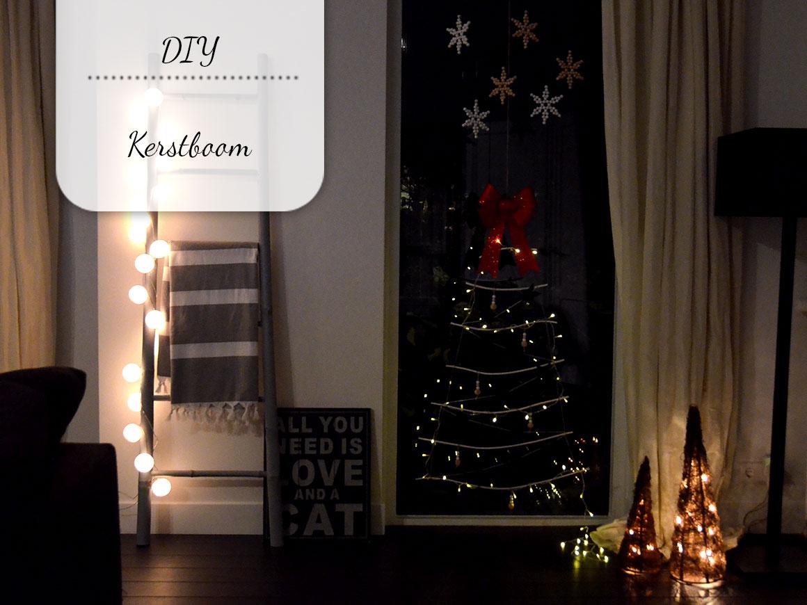 DIY: Kerstboom van takken