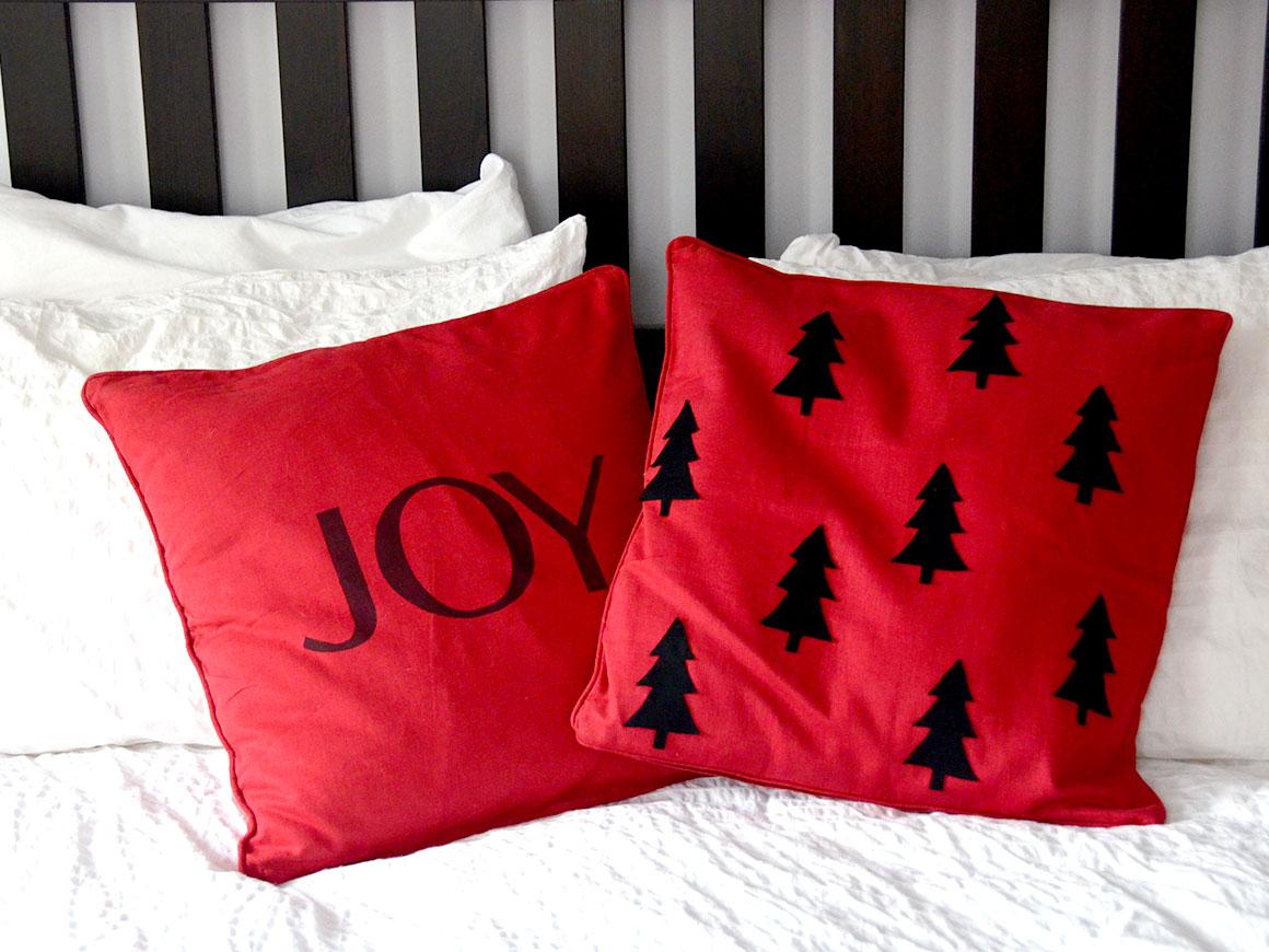 DIY: Kerstkussens