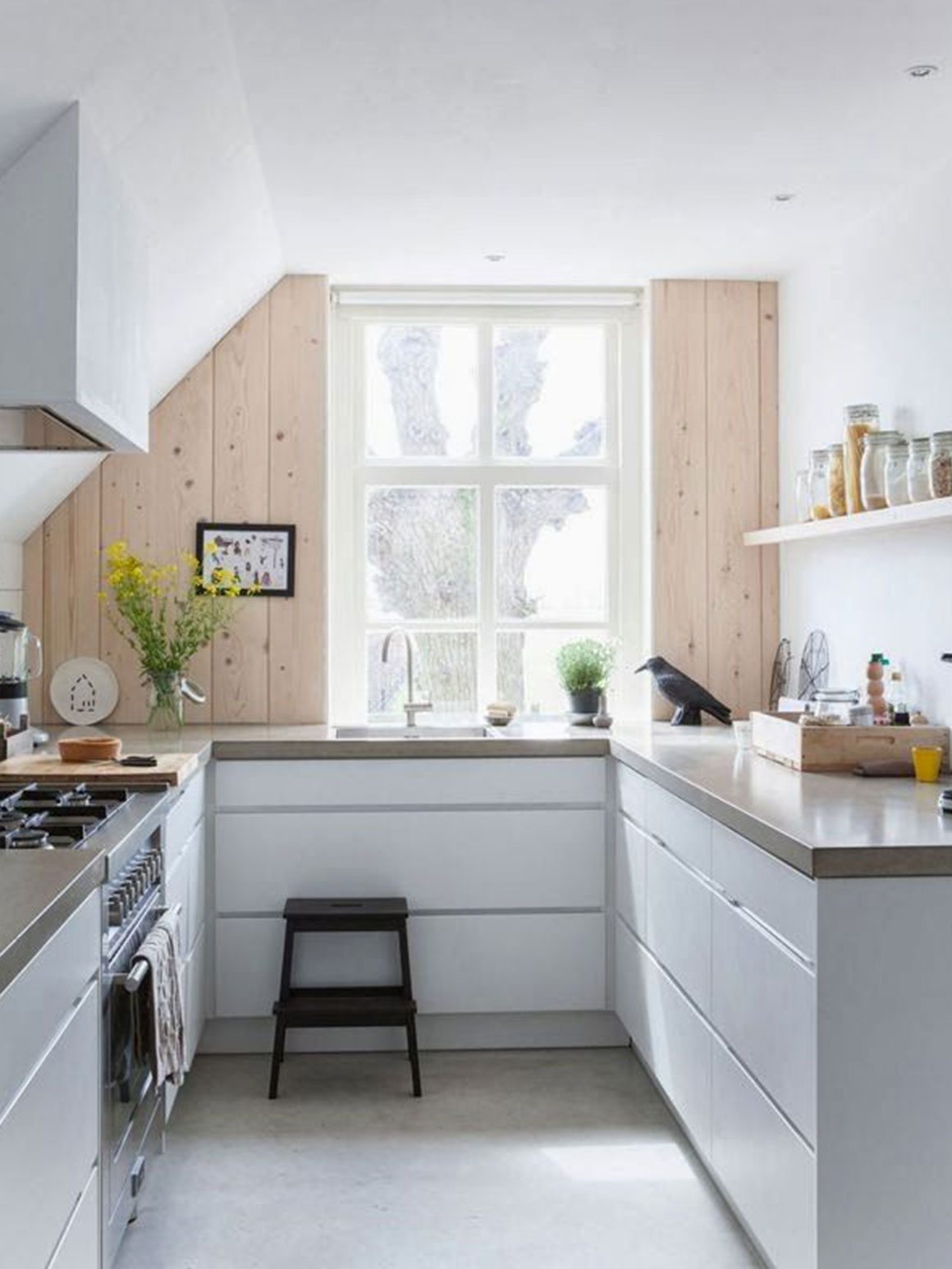 Keuken inspiratie my simply special - Kleine witte keuken ...