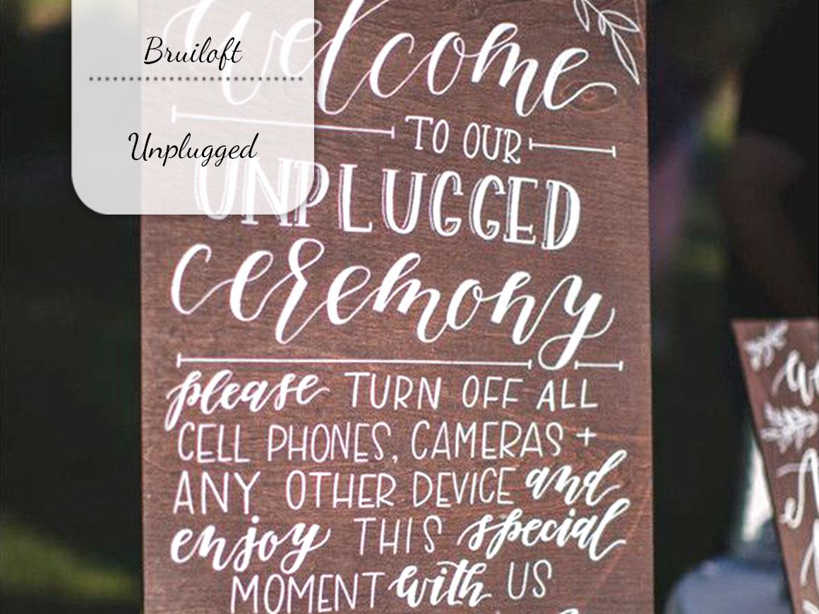 Onze bruiloft: Unplugged
