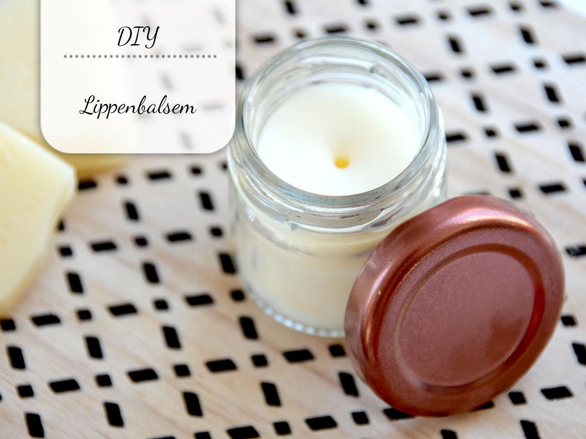 DIY: Verzorgende lippenbalsem