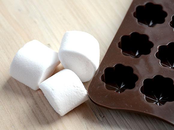 Marshmallow bonbons