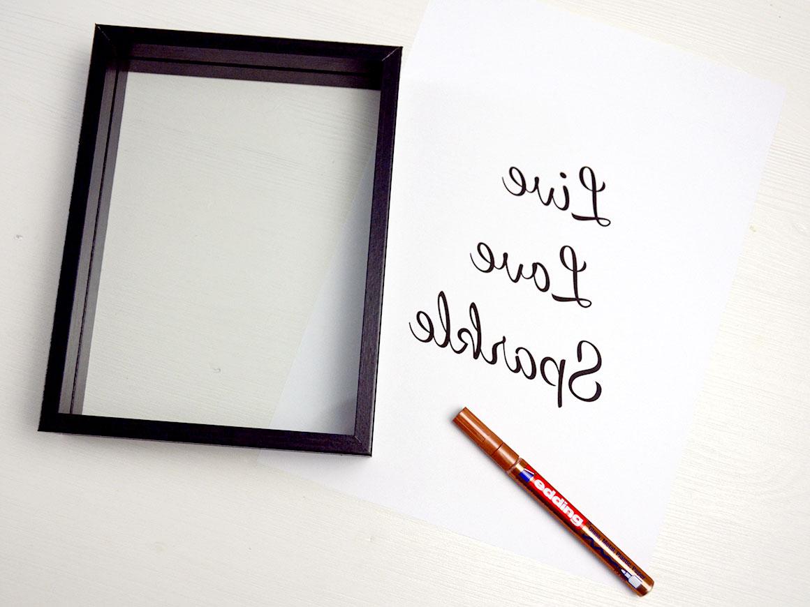 DIY: Quote art