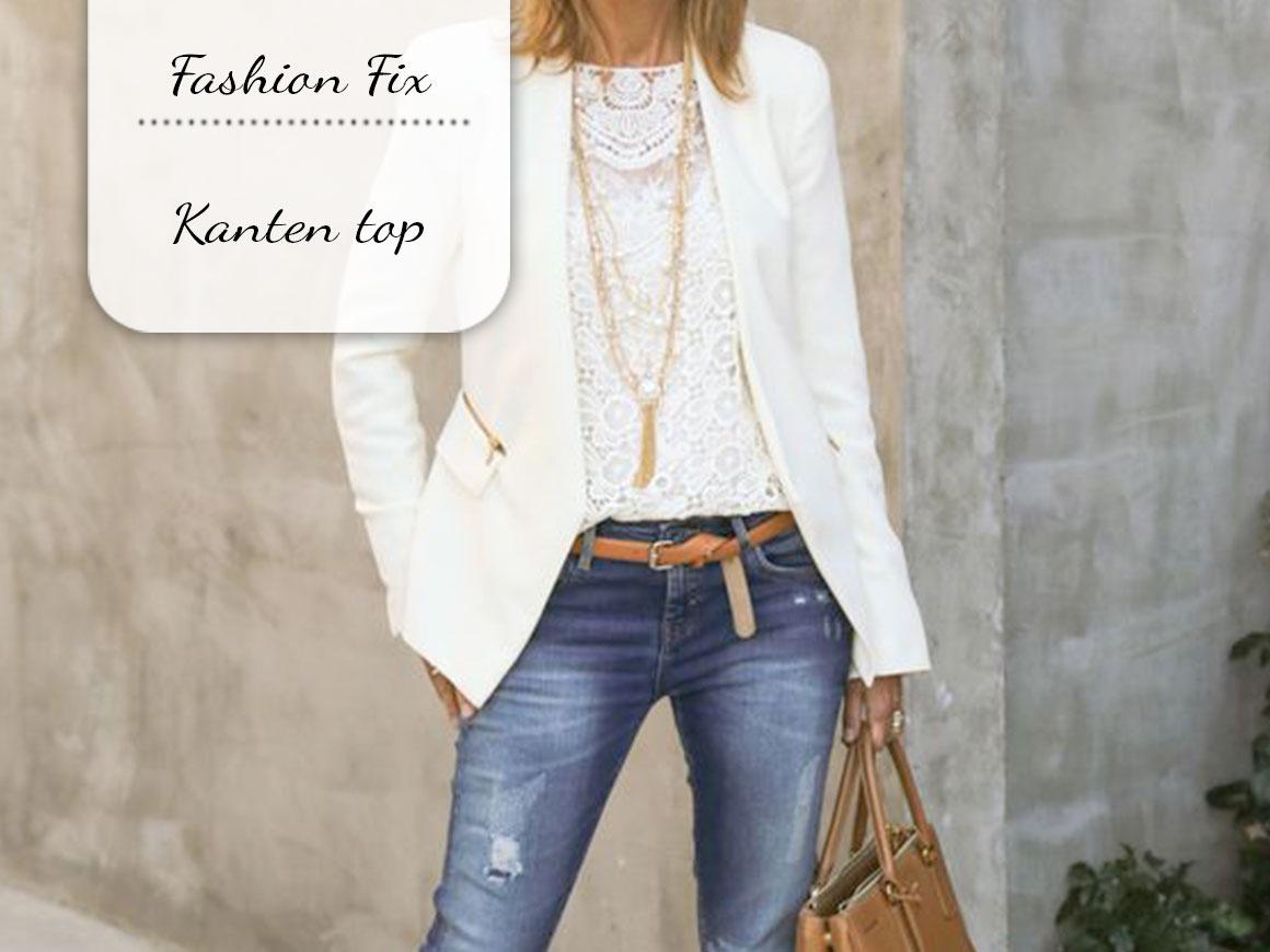 Fashion Fix: Kanten top