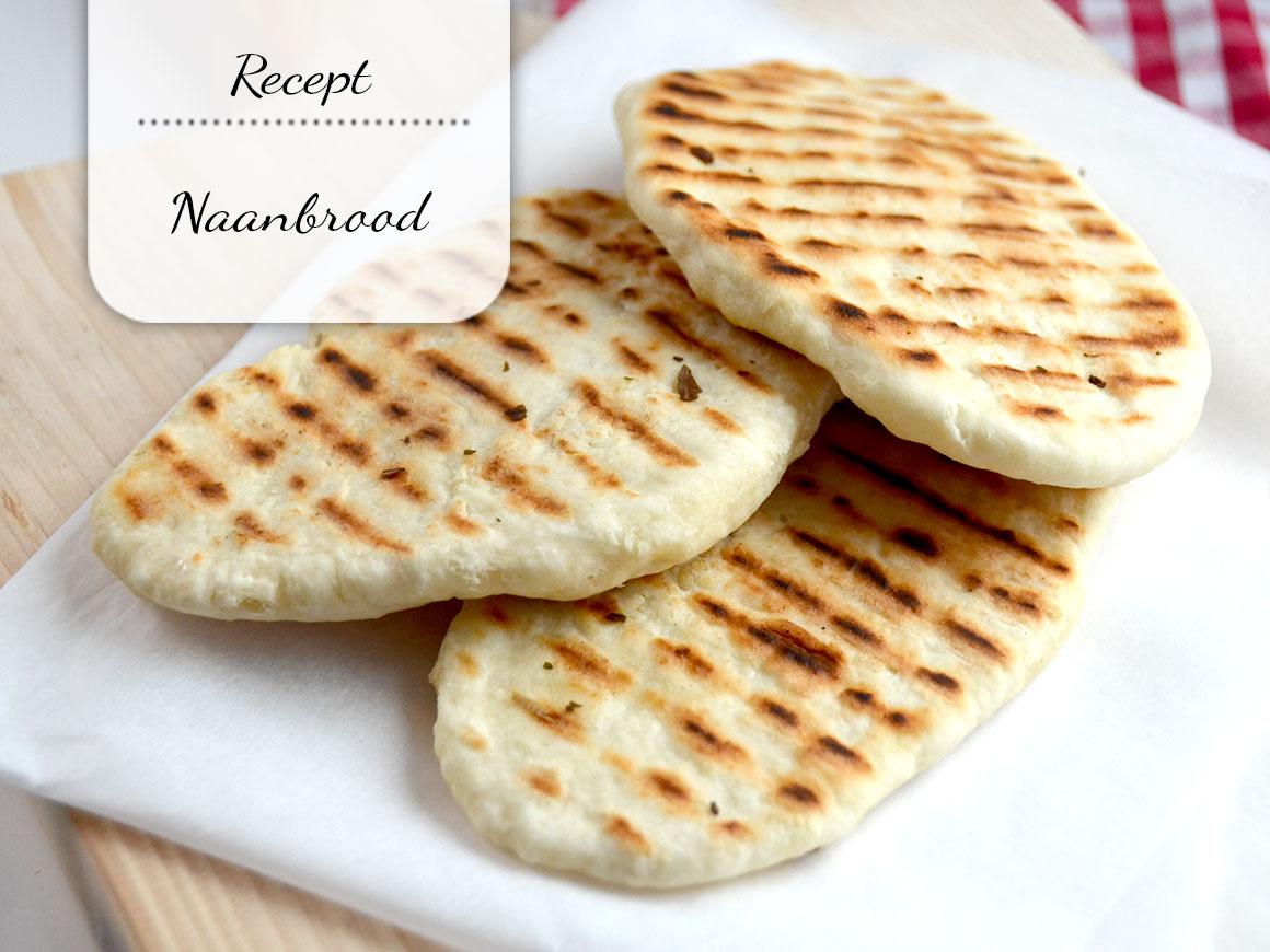 Simpel maar heerlijk naanbrood