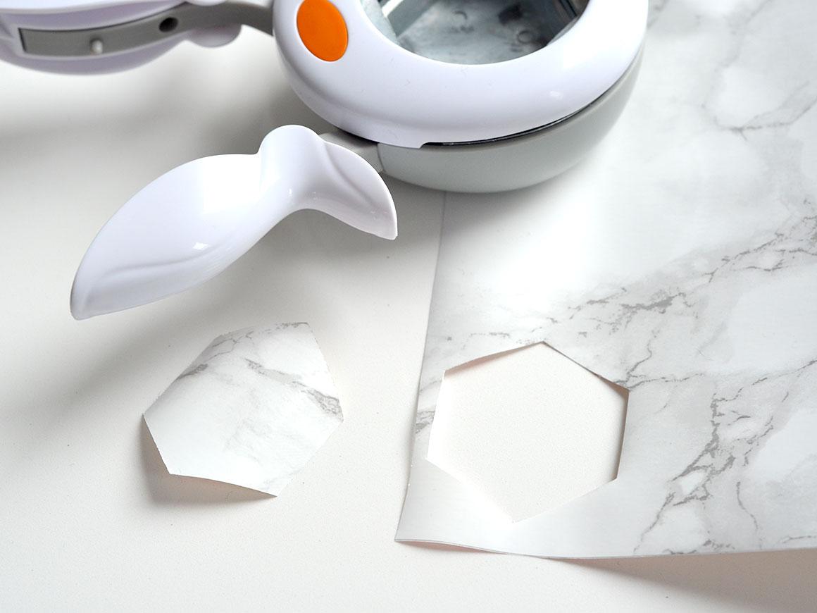 DIY: Update een dienblad met marmer