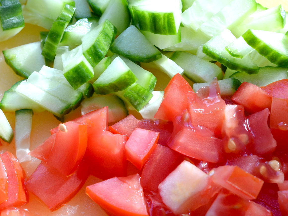 Goed gevulde tonijnsalade (zonder mayonaise)