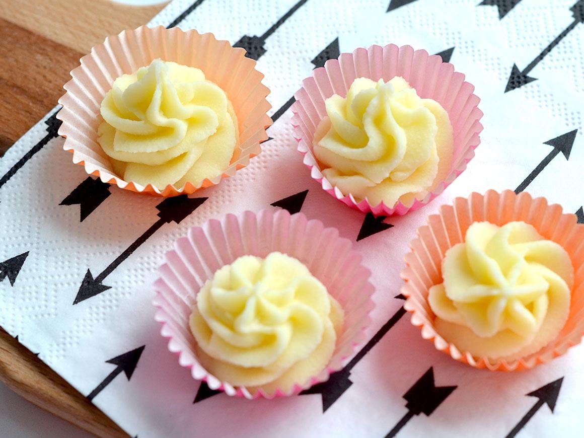 Witte chocolade truffels met limoen