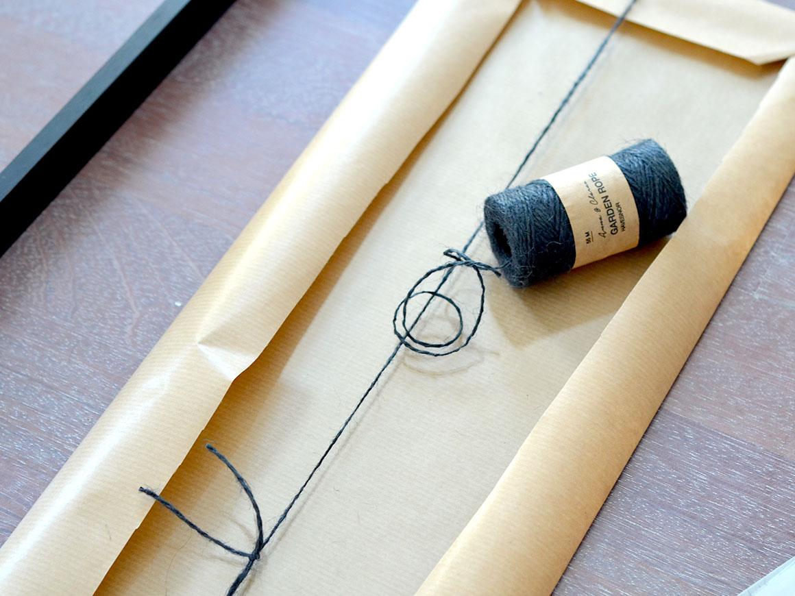 DIY: Fotolijst met knijpertjes