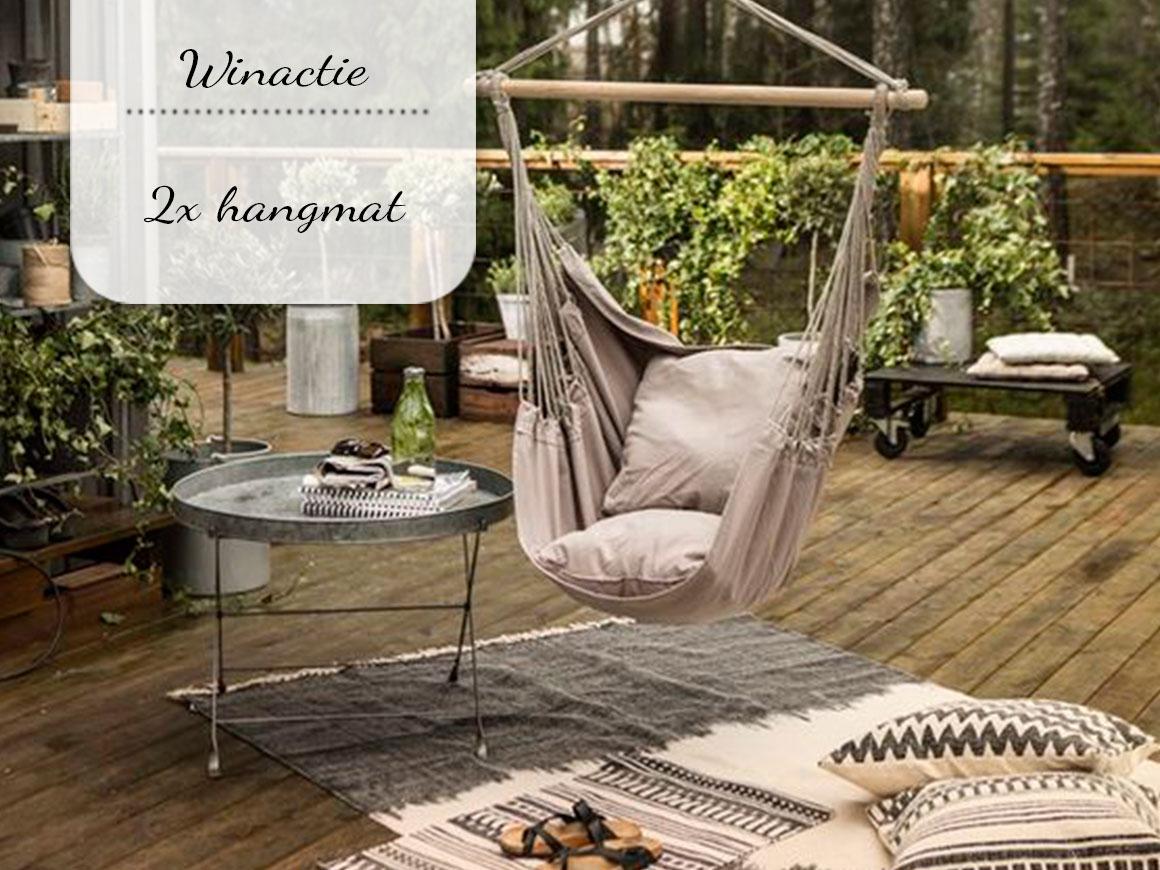 Winactie: vakantiegevoel in een hangmat naar keuze