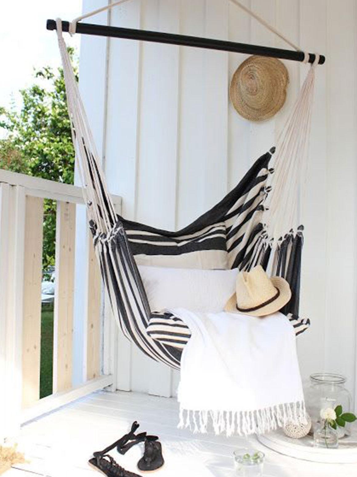 Hangmat Ophangen Balkon.Winactie Vakantiegevoel In Een Hangmat Naar Keuze My Simply Special