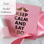 De lieve bridal collection van Essie