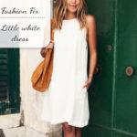 Fashion Fix: Little white dress