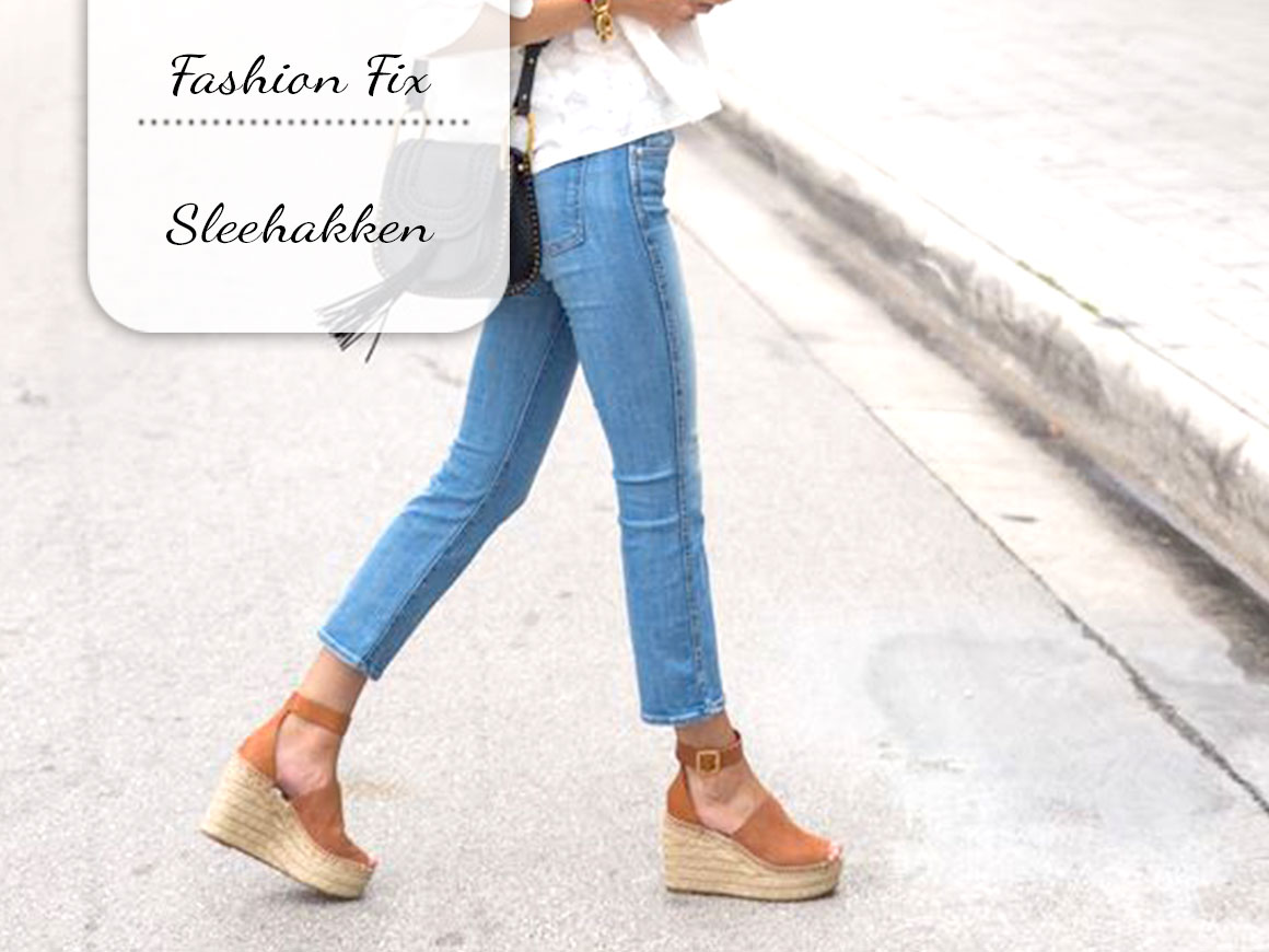 Fashion Fix: Sleehakken
