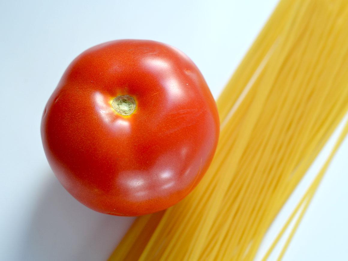 Hele simpele pasta met geitenkaas