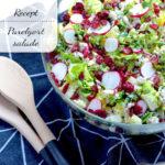 Parelgort salade met radijs en munt