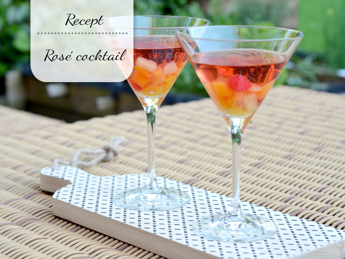 Zomerse rosé cocktail