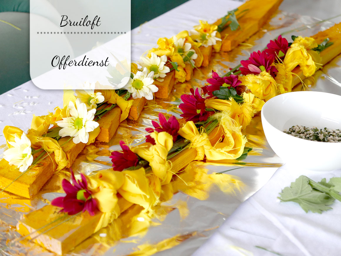 Onze Hindoestaanse bruiloft: Offerdienst
