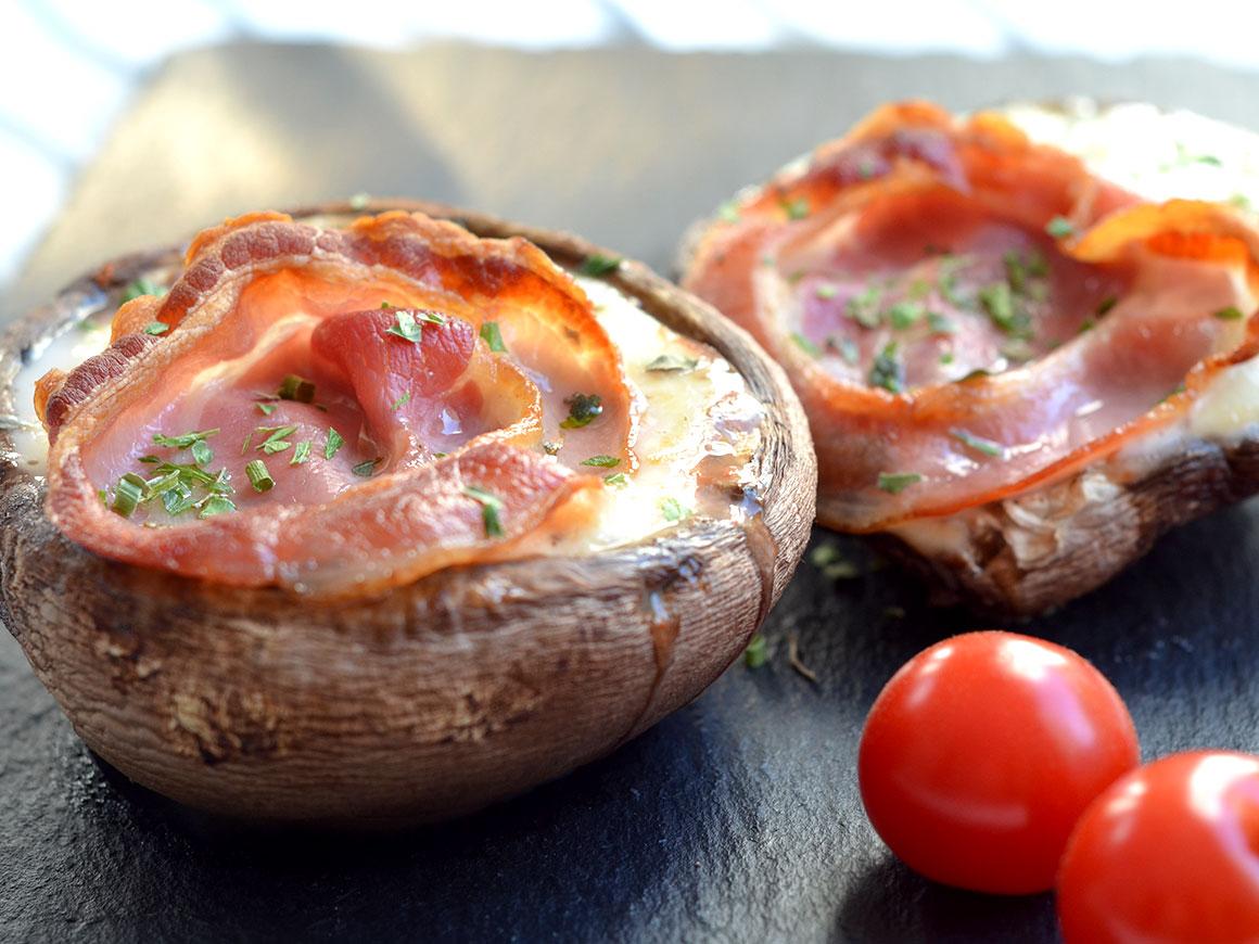 Portobello pizza's