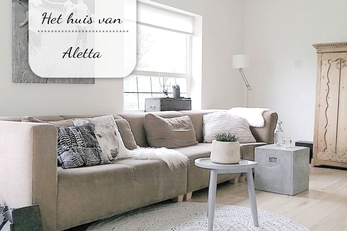 Binnenkijken bij: Aletta
