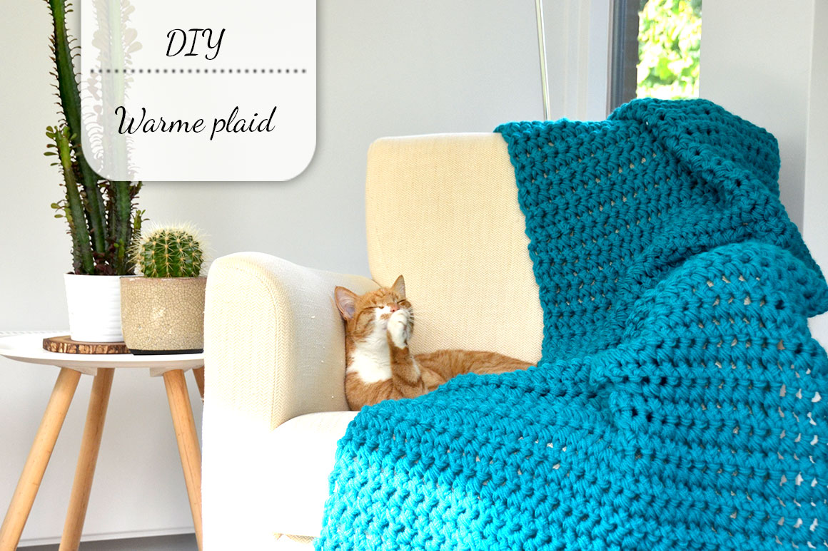 Diy Warme Plaid Voor Nog Geen 12 My Simply Special