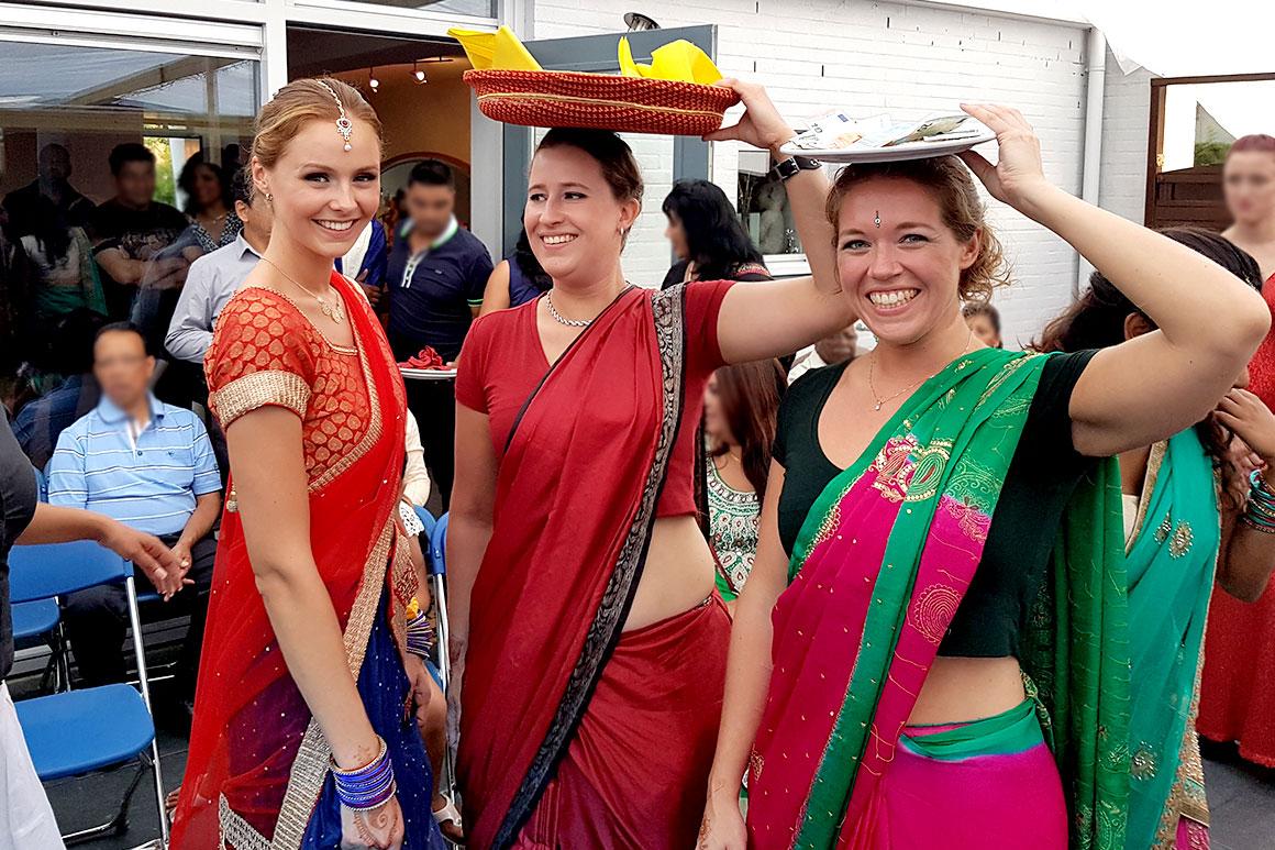 Onze Hindoestaanse bruiloft: Hardi & Bhatwaan