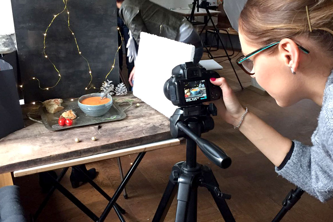 Dagboek: Foodfotografie workshop