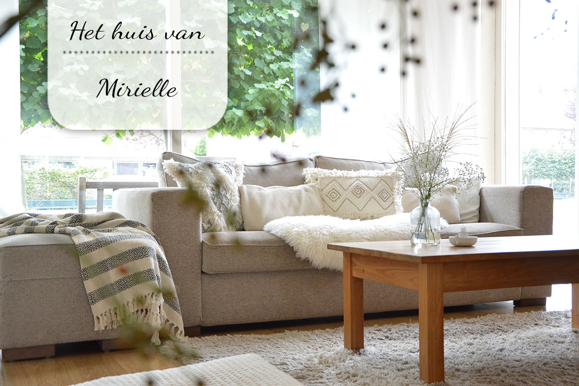 Binnenkijken bij Mirielle