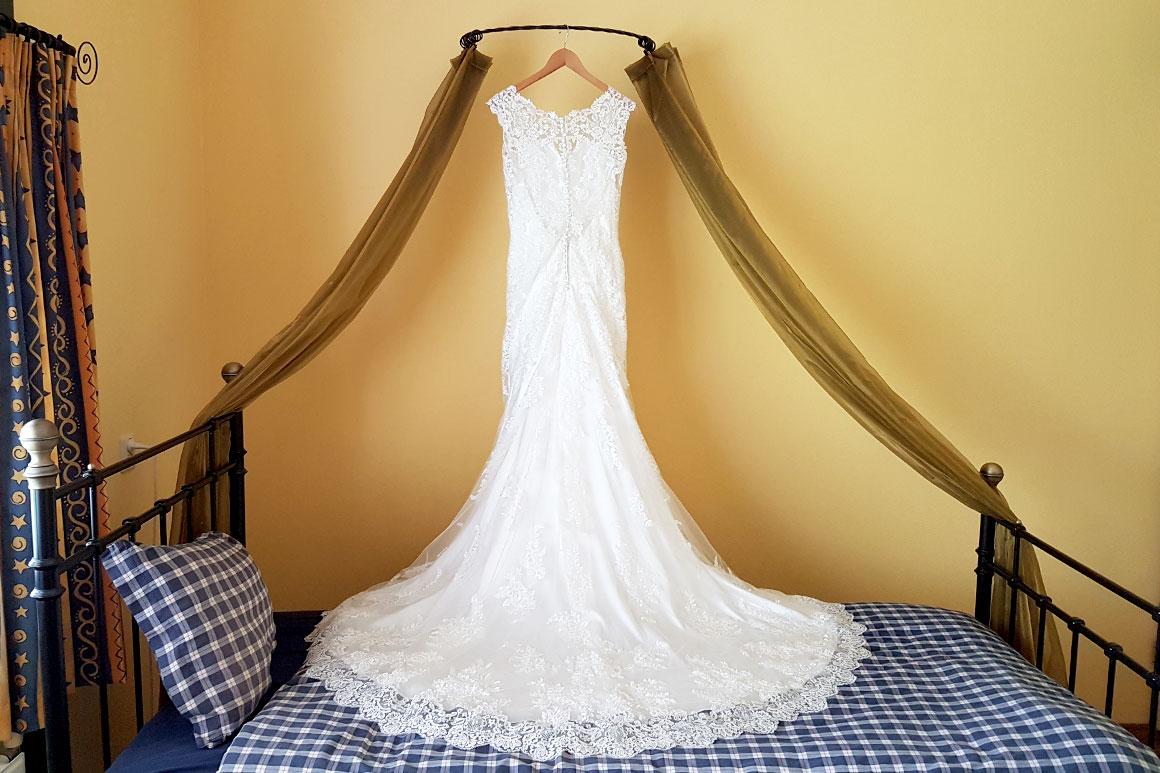 Onze bruiloft: Mijn trouwjurk
