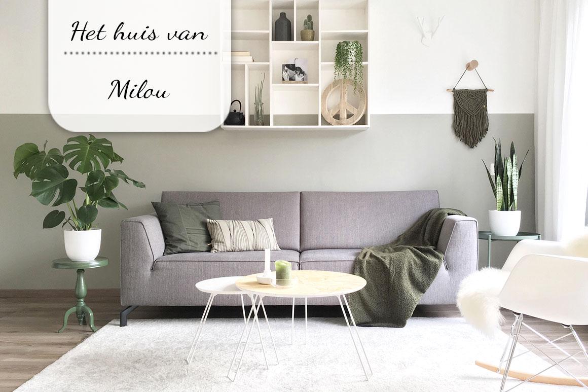 Binnenkijken bij Milou