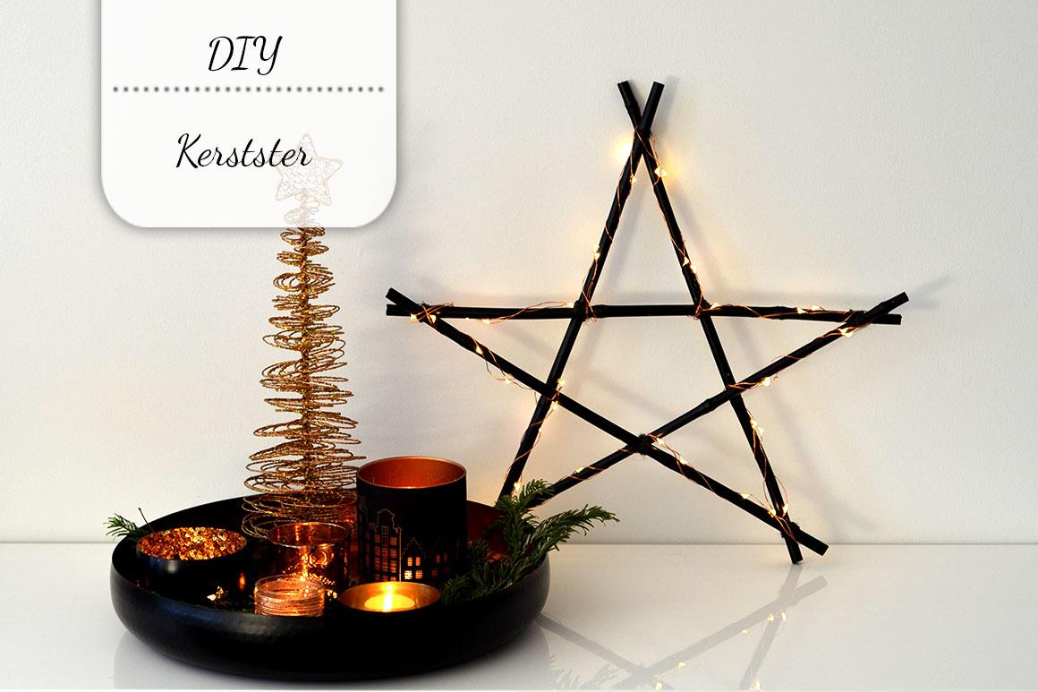 DIY: Kerstster met lampjes