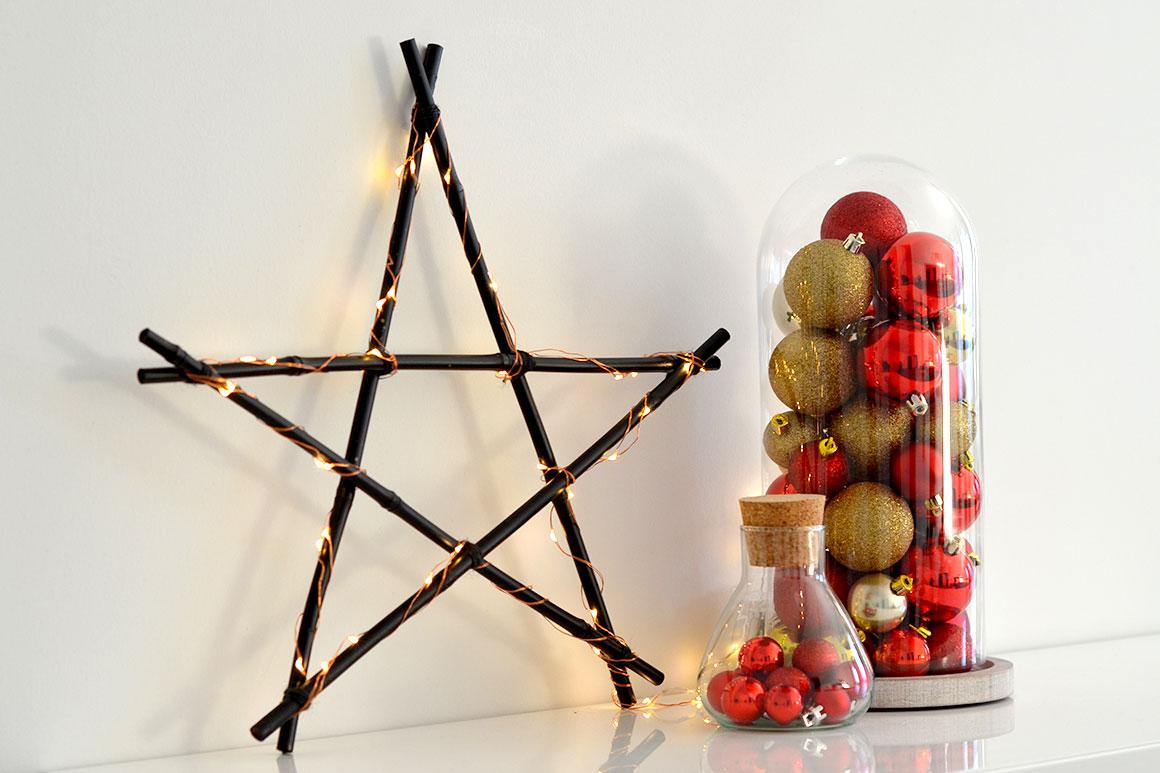 Zelf kerstdecoratie maken