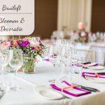 Onze bruiloft: Bloemen en decoraties