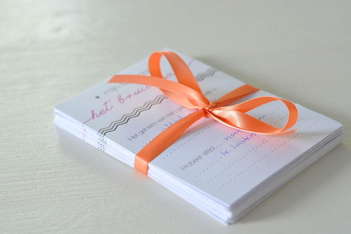 Onze bruiloft: Gastenboek