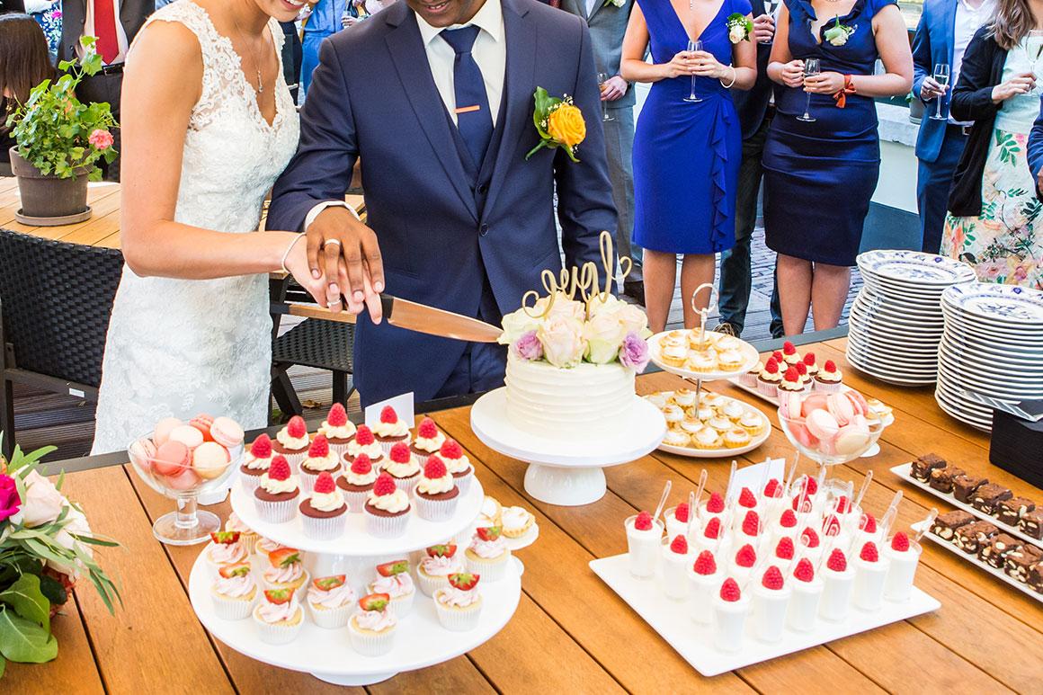 Onze bruiloft: Sweet table