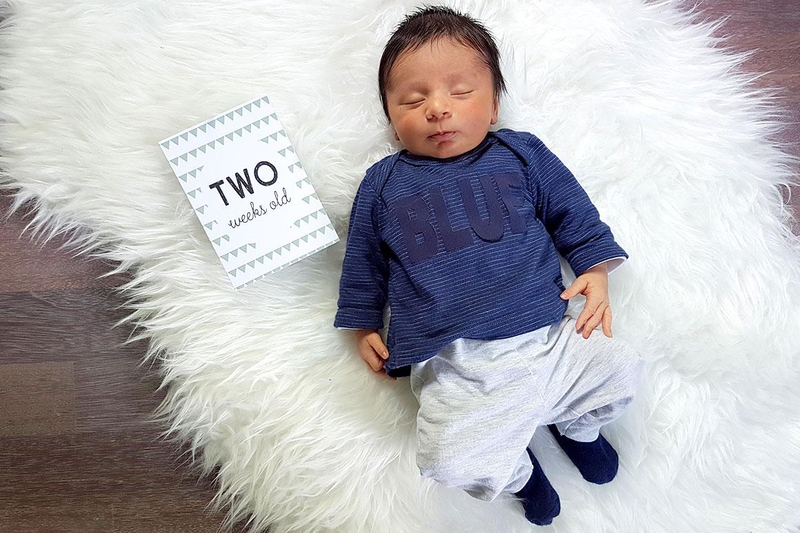 Dagboek: baby Liam
