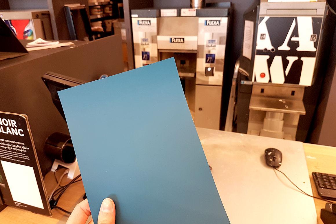 Dagboek: De eerste kleur
