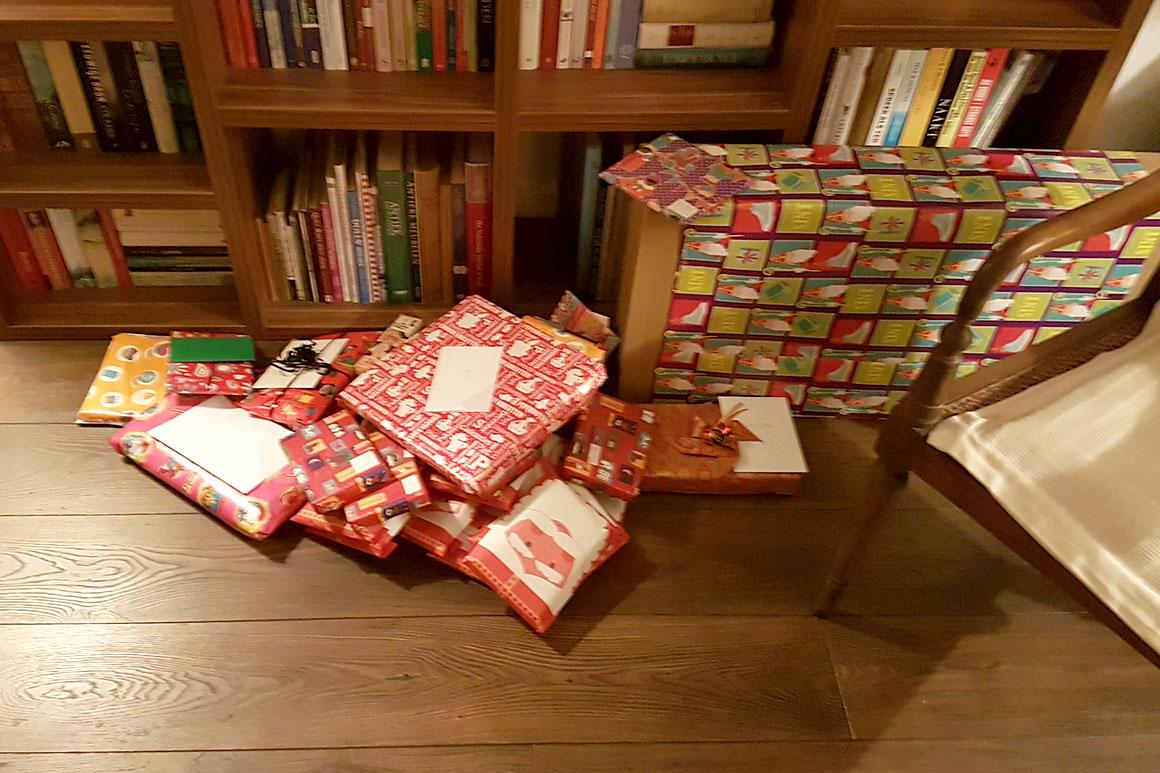 Dagboek: Schilderen & Sinterklaas