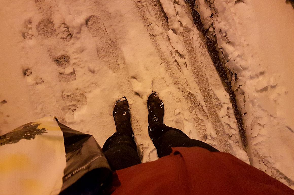 Dagboek: Klussen & Sneeuw