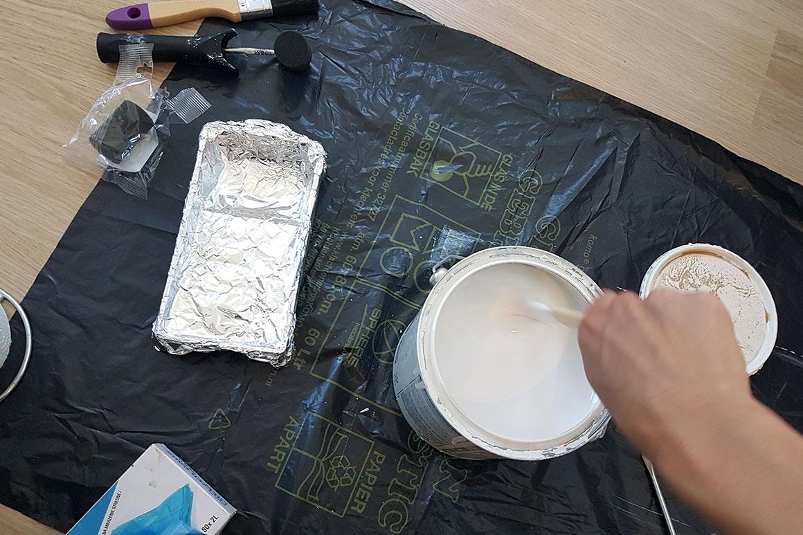 Dagboek: Zoldertrap schilderen