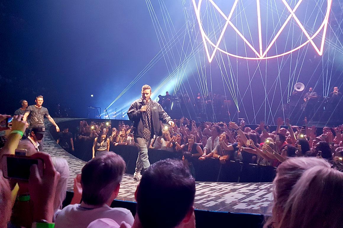 Dagboek: Justin Timberlake concert