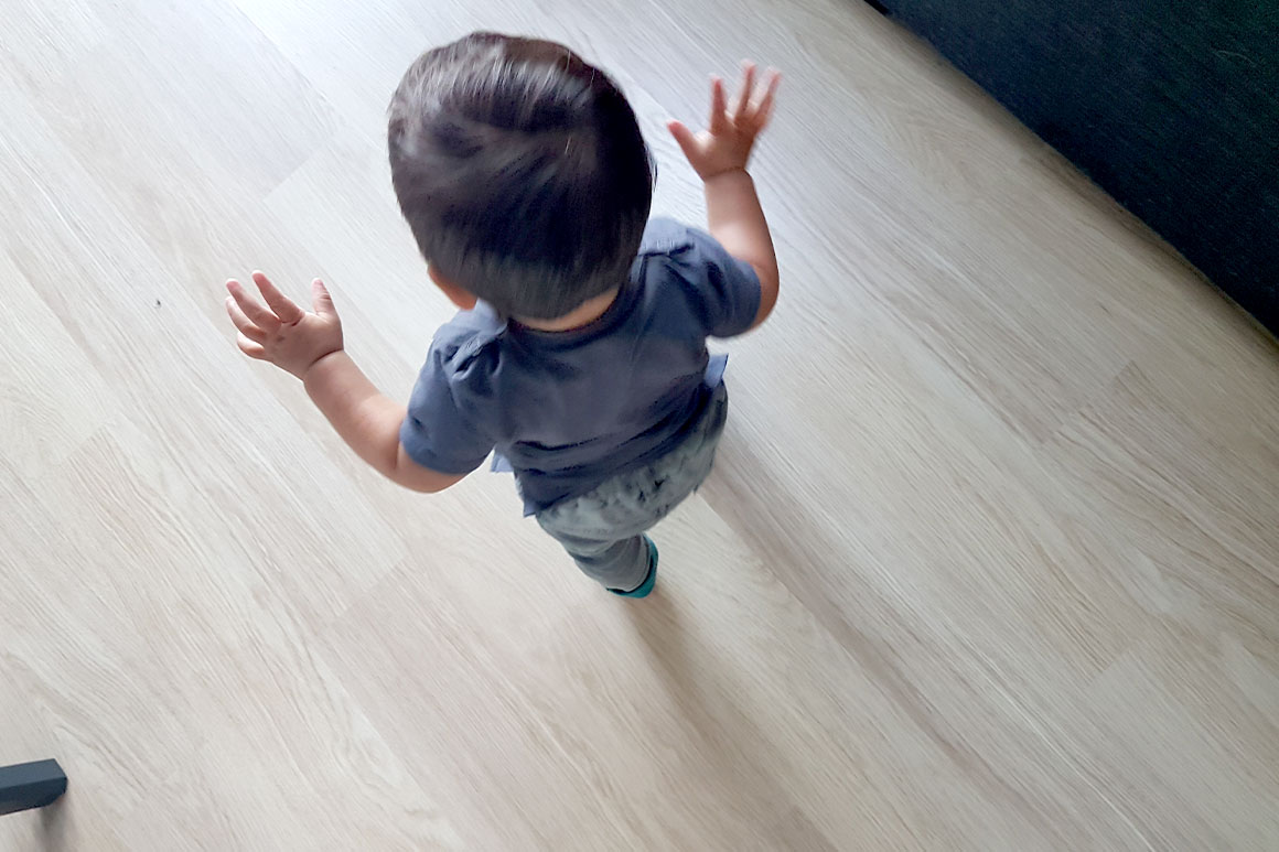 Dagboek: Liam loopt!