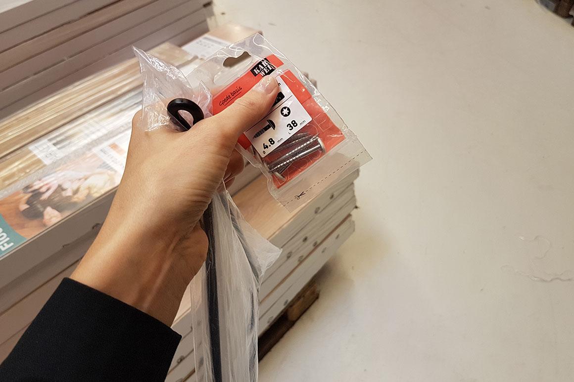 Dagboek: Plankjes ophangen