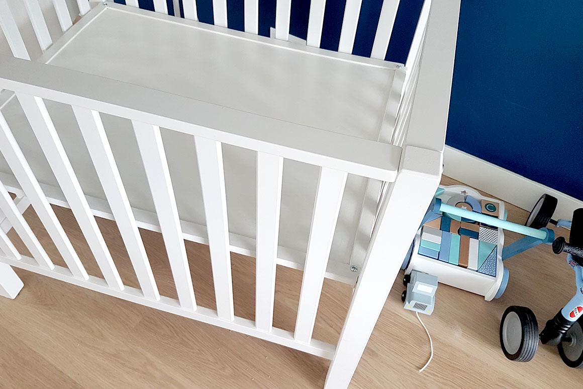 Dagboek: Liam slaapt in zijn nieuwe bed