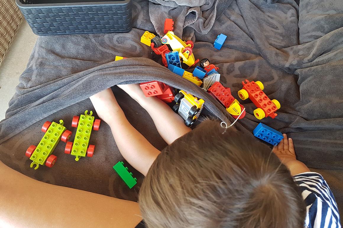 Dagboek: Vakantie met z'n drietjes