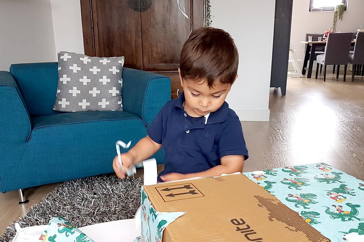 Dagboek: Liams tweede verjaardag
