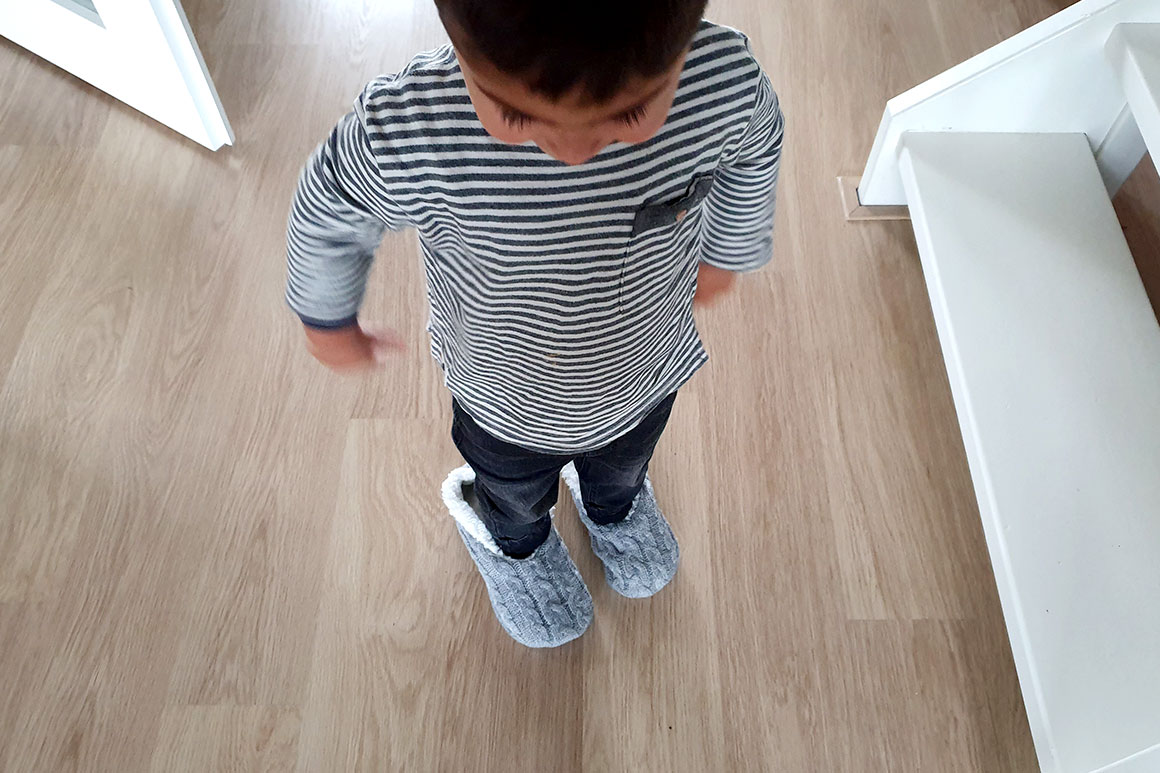 Dagboek: Schoen zetten