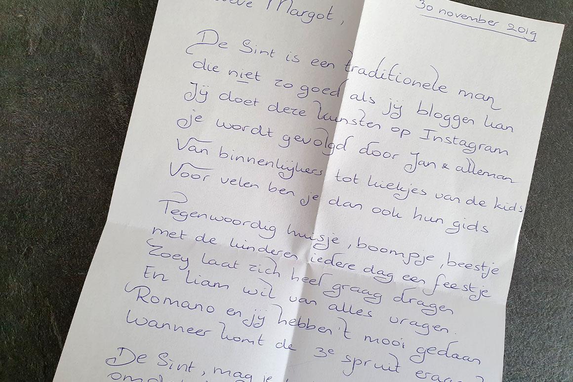 Dagboek: Sinterklaas