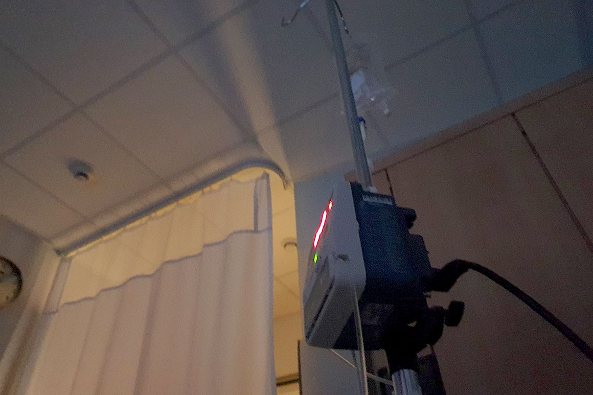 Dagboek: Nachtje ziekenhuis